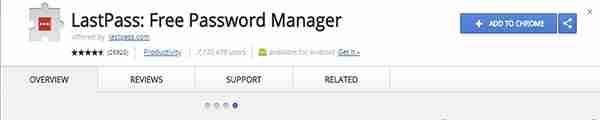 ExtensionLastPass Free Password Manager