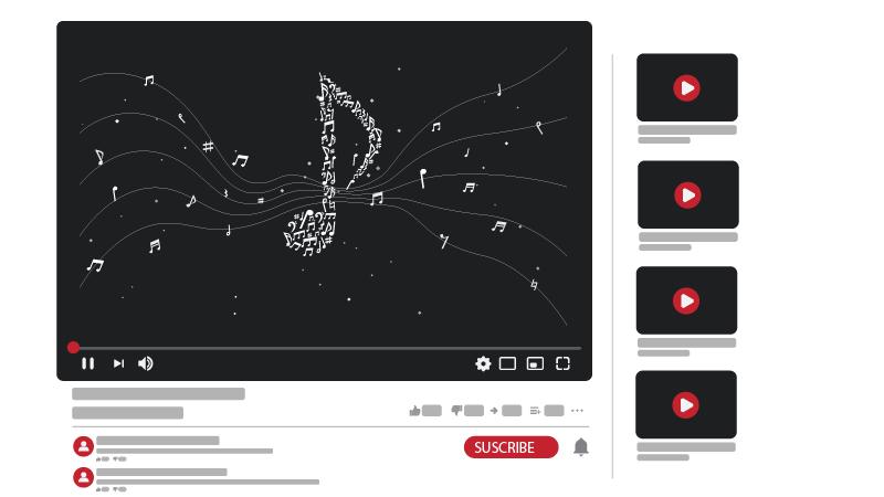 أقناة يوتيوب للموسيقي والغناء