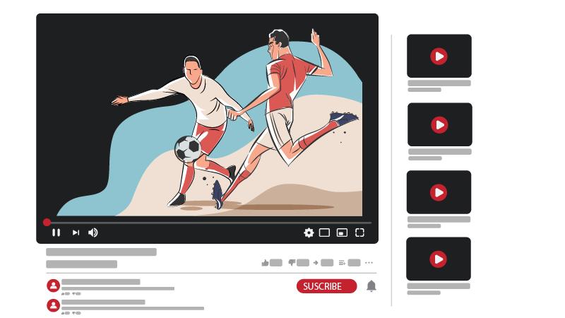 قناة يوتيوب رياضية