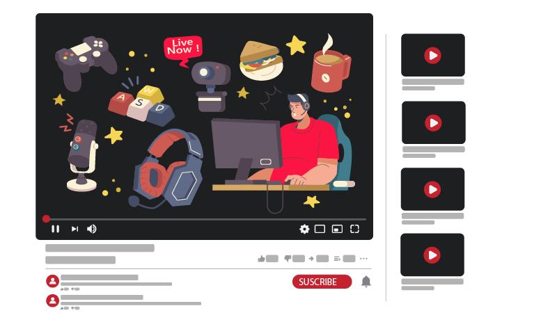قناة يوتيوب عن الألعاب