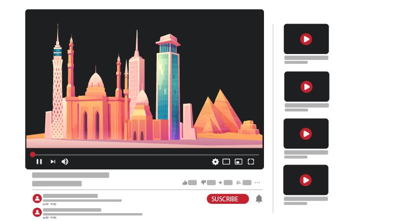 قناة يوتيوب عن البلد أو المدينة التي تعيش فيها