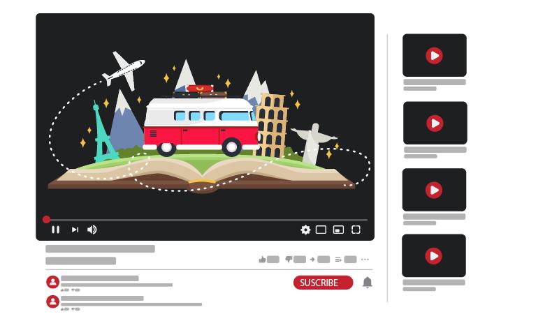 قناة يوتيوب عن السفر والترحال
