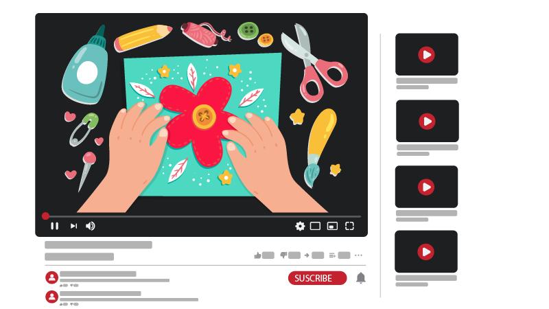 قناة يوتيوب عن كيفية عمل الأشياء اليدوية