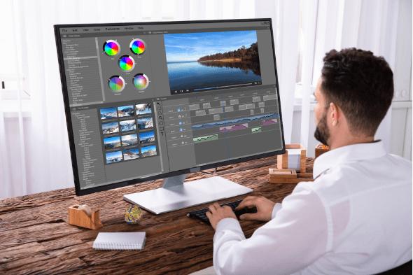 مجال إنشاء وتحرير الفيديوهات