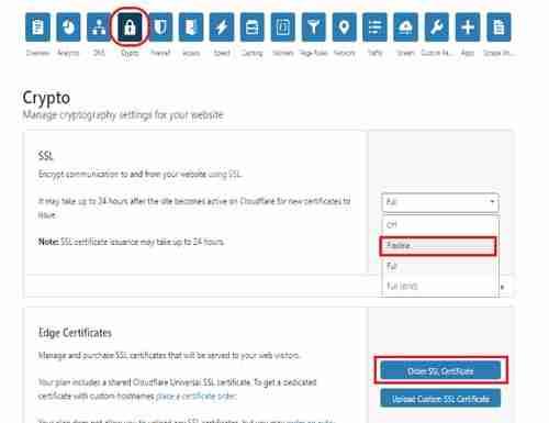 الحصول على شهادة SSL مجانية من Cloudflare الخطوة 7