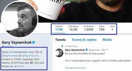 كيف تكتب سيرة ذاتية على تويتر