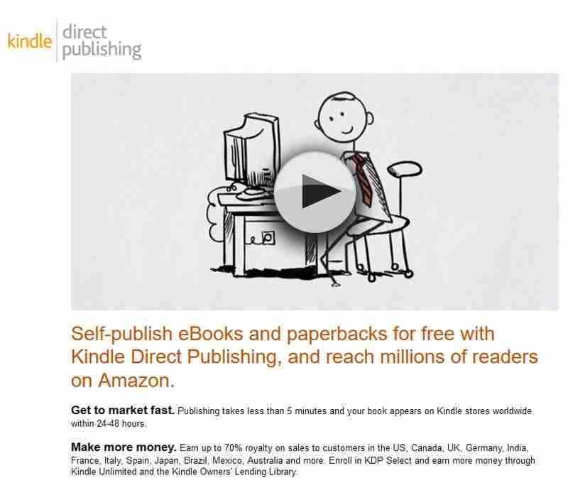 Profit from Amazon through e-books