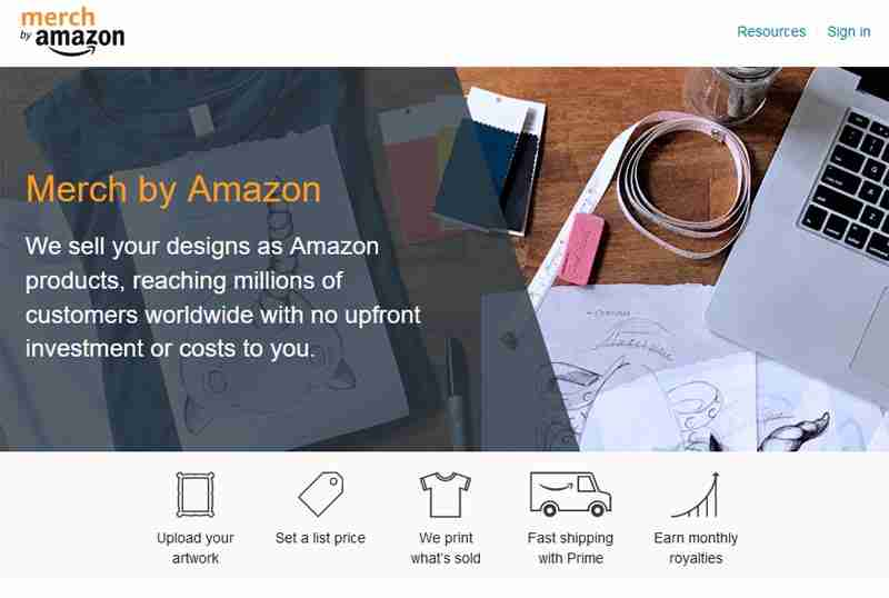 Profit from Amazon by printing T-shirts