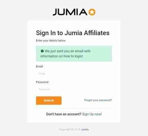 التسجيل في أفلييت جوميا الخطوة الثالثة