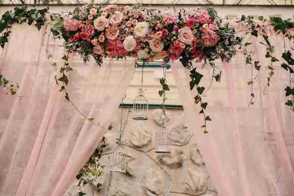 مشروع تصميم ديكورات الخطوبة والزفاف