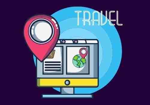 مشروع موقع عن السياحة والسفر.