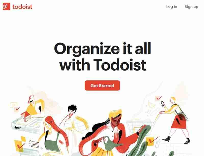 تطبيق تودويست لتنظيم الوقت