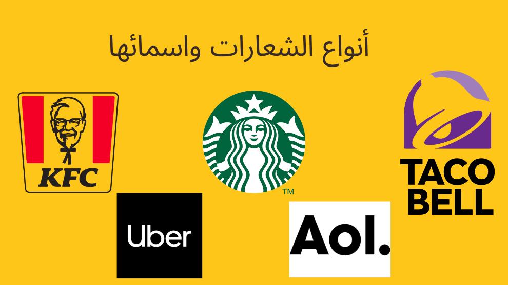 أنواع الشعارات واسمائها