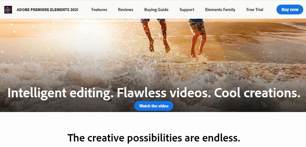 برنامج تعديل الفيديوهات السهل ADOBE PREMIERE ELEMENTS 2021