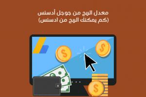 معدل الربح من جوجل أدسنس