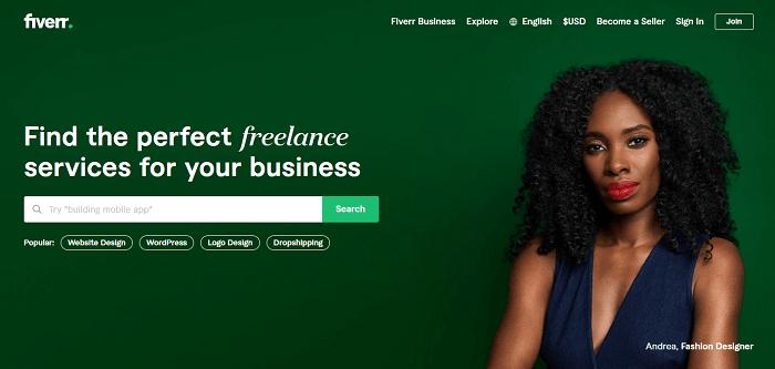 منصة Fiverr للعمل الحر