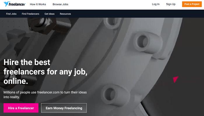 منصة Freelancer للعمل الحر