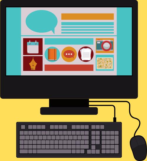 مهارة التعامل مع التكنولوجيا والواجهات والأنظمة والبرامج