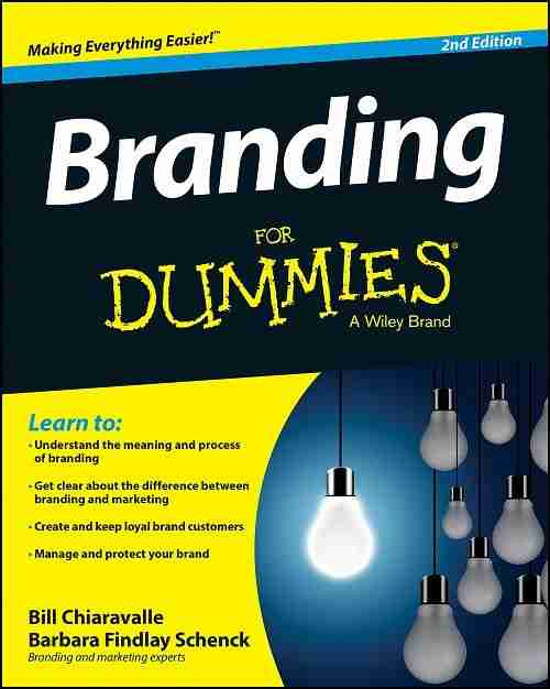 Branding For Dummies Book