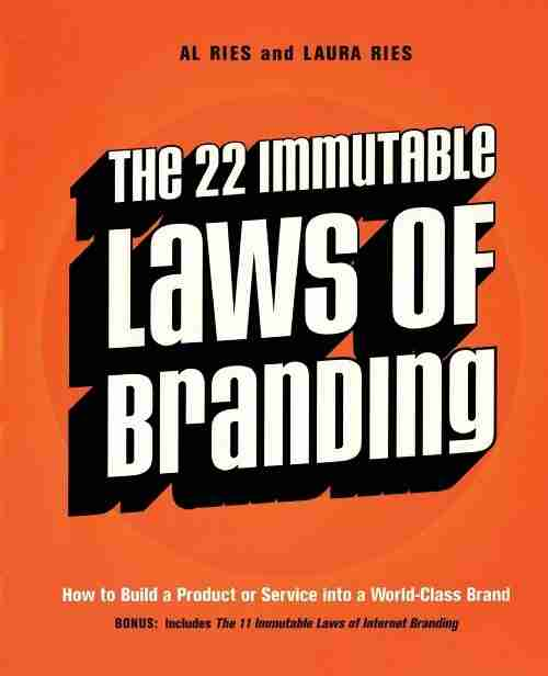 The 22 Immutable Laws of Branding Book