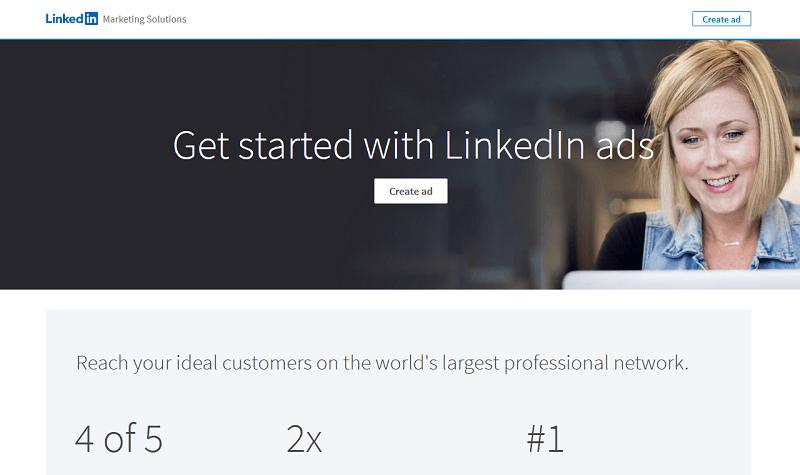 منصة LinkedIn Ads