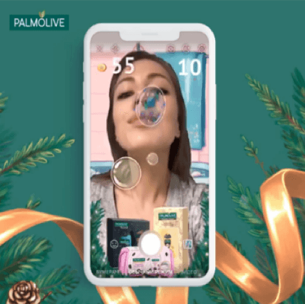 palmovile augmented reality