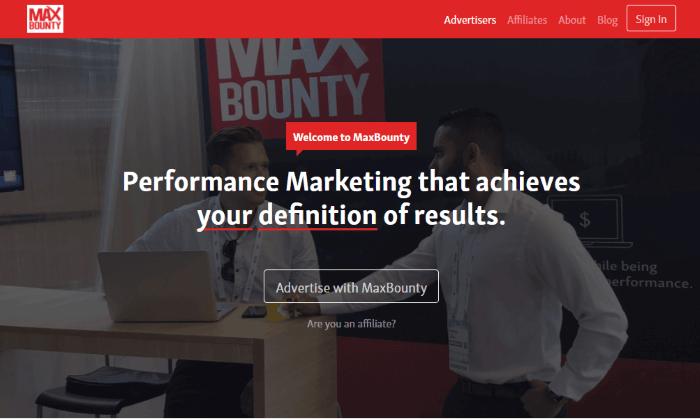 شركة maxbounty