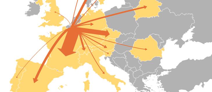 تمثيل البيانات الجغرافي